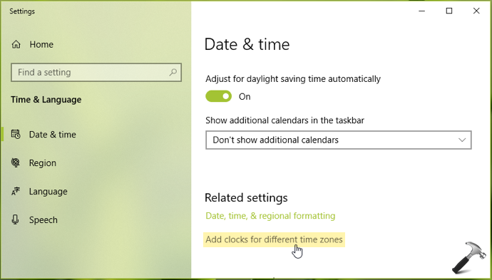 How To Add Additional Clocks With Multiple Time Zones In Windows