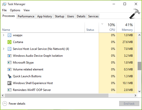 FIX Can't Open Task Manager In Windows 10