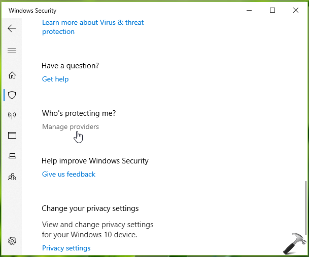 FIX Cant Turn On Windows Security/Defender In Windows 10
