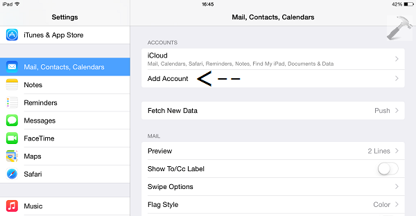 How To] Check IMAP Or POP Account Mails On iPad, Windows Phone