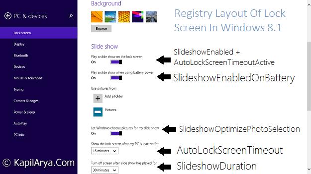 How To] Configure Lock Screen Slide Show In Windows 8 1