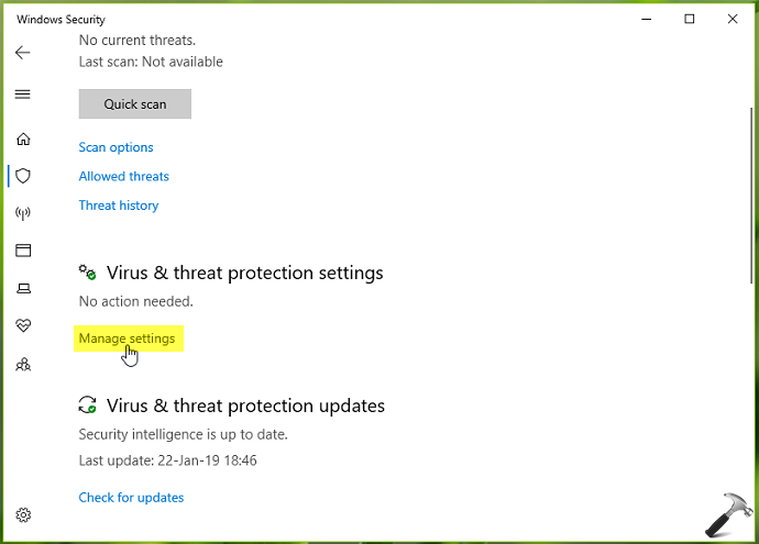 How To Configure Tamper Protection In Windows Security For Windows 10