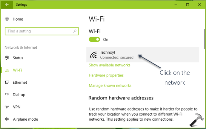 Connect Automatically To WiFi In Windows 10
