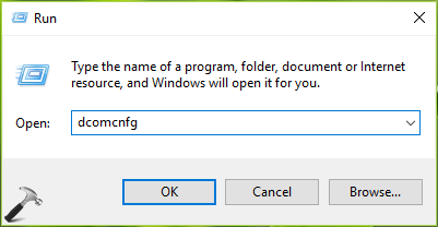 Component Services Windows 10