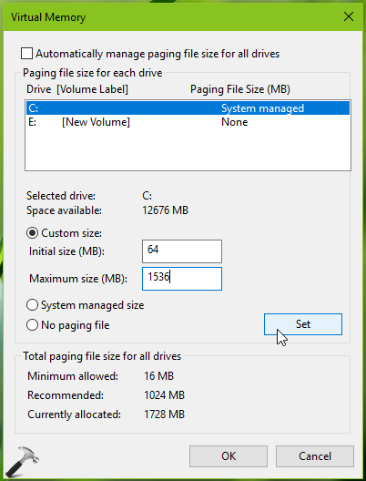 How Do I Change Paging File Size In Windows 10
