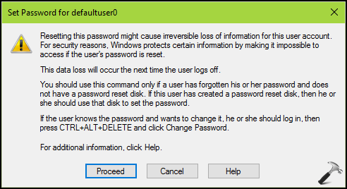 [FAQ] What Is defaultuser0 Account In Windows 10 And How To Remove It?