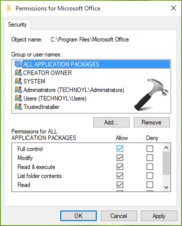 FIX - Access Denied To Installation Source While Installing Office 2016