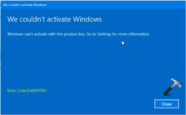 Fix activation failed because this device doesnt have a valid fix activation failed because this device doesnt have a valid digital entitlement or product key ccuart Choice Image