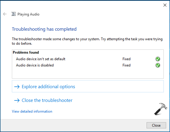 [FIX] Audio Not Working After Upgrading To Windows 10