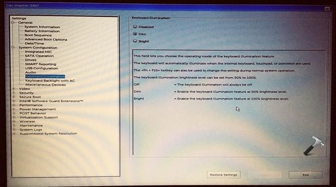 FIX] Backlit Keyboard Is Not Working In Windows 10 On Dell
