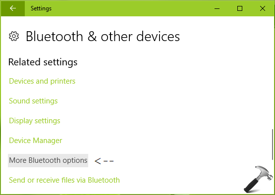 FIX Bluetooth Icon Missing From Windows 10 Taskbar