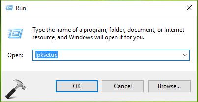 FIX - Cannot Install Language Packs In Windows 10. Error Code 0x800F0908.