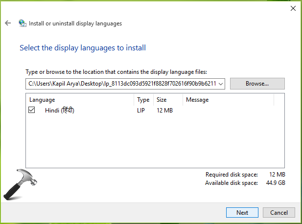 FIX - Cannot Install Language Packs In Windows 10. Error Code 0x800F0908.