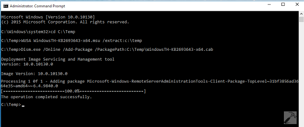 FIX Cannot Install Remote Server Administration Tools (RSAT) In Windows 10