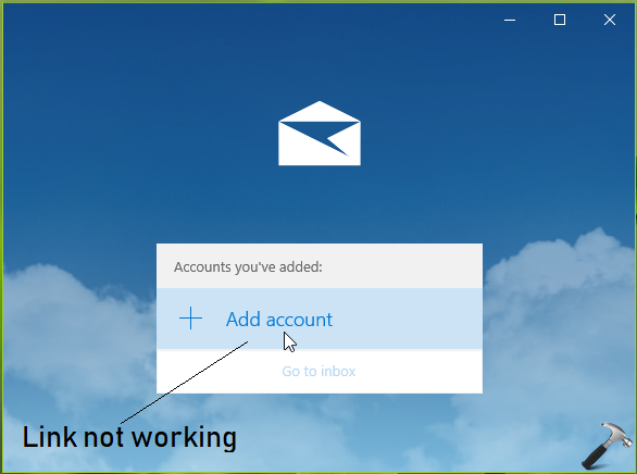 FIX] Can't Add Account To Mail App In Windows 10