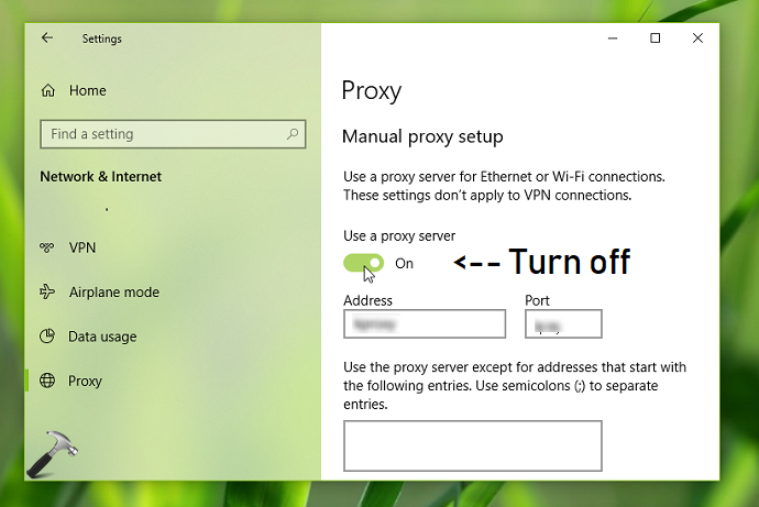 FIX Can't Connect To The Proxy Server In Microsoft Edge
