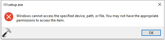 FIX Cant Open .EXE Files In Windows 10