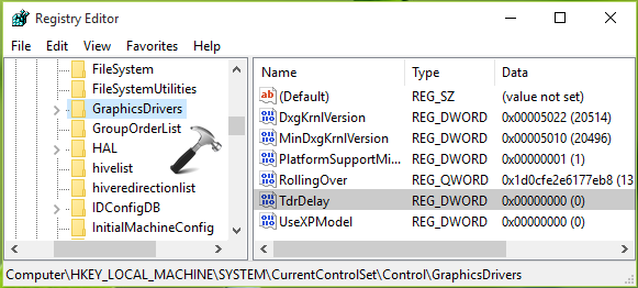 FIX Display Driver Stopped Responding And Has Recovered In Windows 10