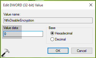 FIX: Encrypt Contents To Secure Data Greyed Out In Windows 10