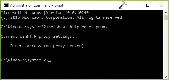 FIX Error 0x80072EFD - The Server Stumbled For Windows Store