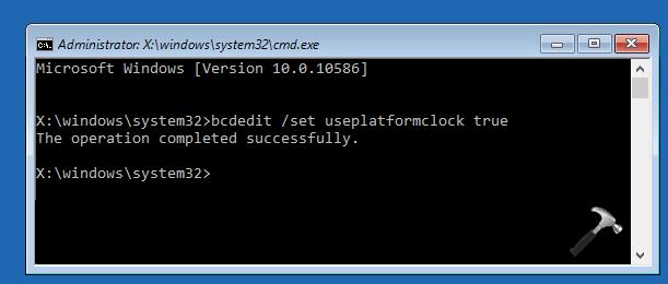 FIX - HAL_INITIALIZATION_FAILED BSOD In Windows 10