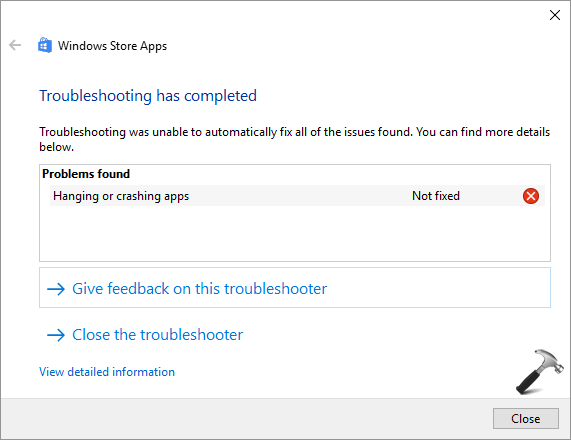 Hanging Or Crashing Apps In Windows 10