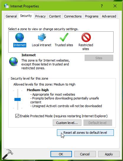 FIX] 'INET_E_RESOURCE_NOT_FOUND' In Microsoft Edge