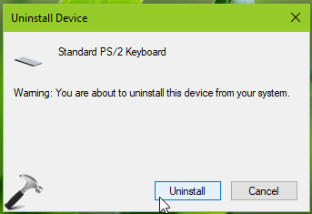 FIX Keyboard Not Working In Windows 10