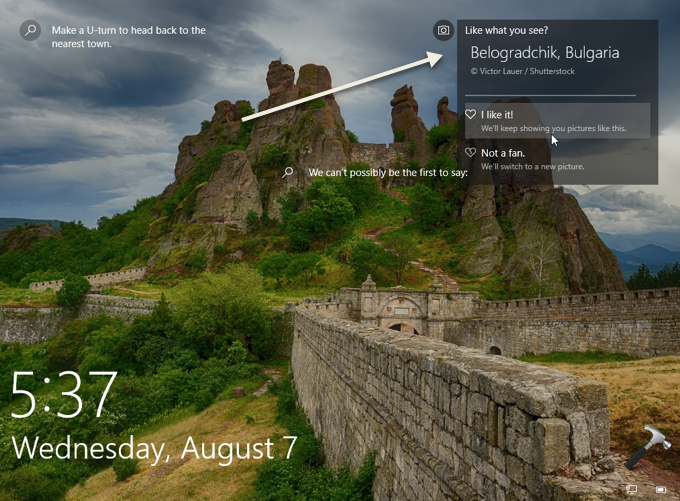 FIX Like What You See Missing For Windows Spotlight