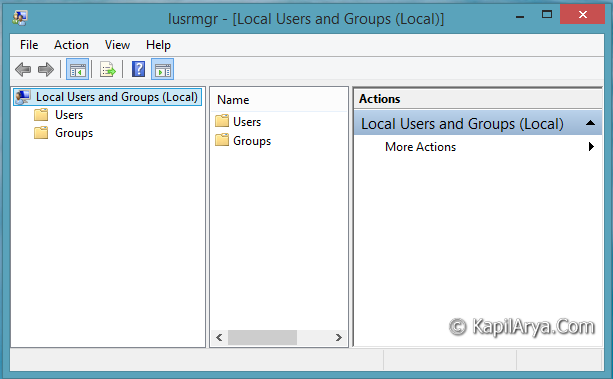 windows 7 home premium local users and groups hack