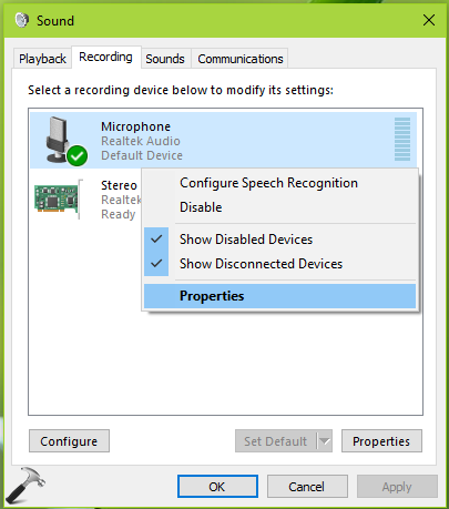 FIX Microphone Not Working In Windows 10