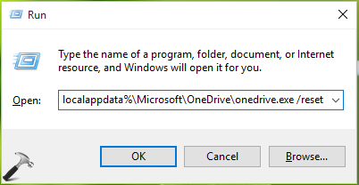 FIX Microsoft OneDrive Has Stopped Working In Windows 10