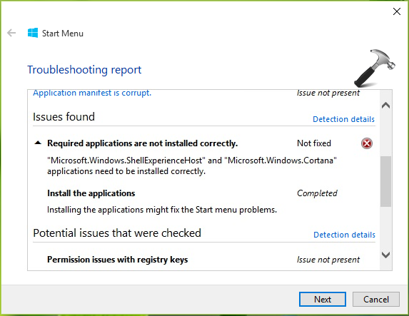 FIX Microsoft.Windows.ShellExperienceHost And Microsoft.Windows.Cortana Applications Needs To Be Installed Correctly In Windows 10