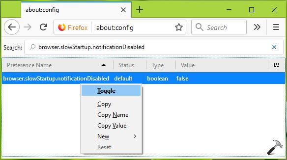 FIX Mozilla Firefox Seems Slow To Start Notification