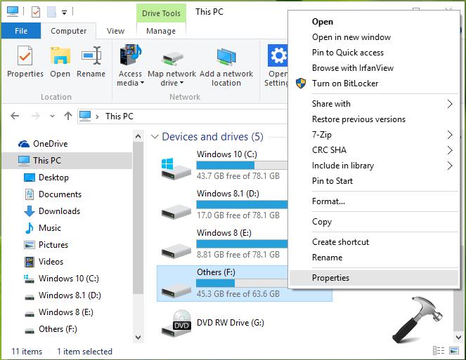 FIX NTFS_FILE_SYSTEM BSOD In Windows 10
