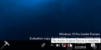 install audio output device windows 10