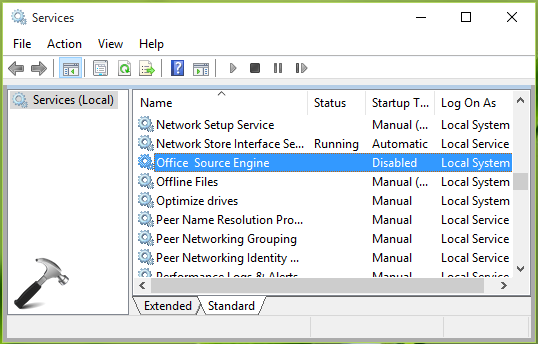 FIX] Office Ran Into A Problem Because Its System Service Is