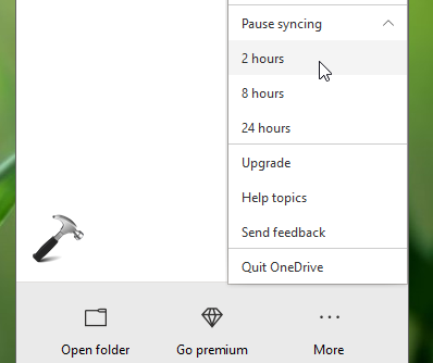 FIX OneDrive Sync Pending In Windows 10