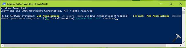 FIX Settings App Not Working In Windows 10