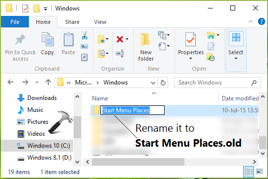 FIX - Settings App Personalization Disabled In Windows 10