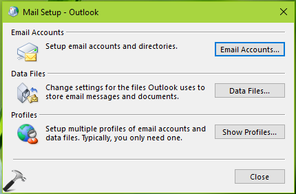 FIX Something Went Wrong And Outlook Couldn't Set Up Your Account