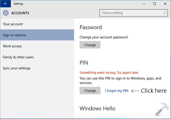 0x8009002d Windows 10 - More info