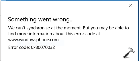 FIX - Something Went Wrong While Syncing Mail App In Windows 10
