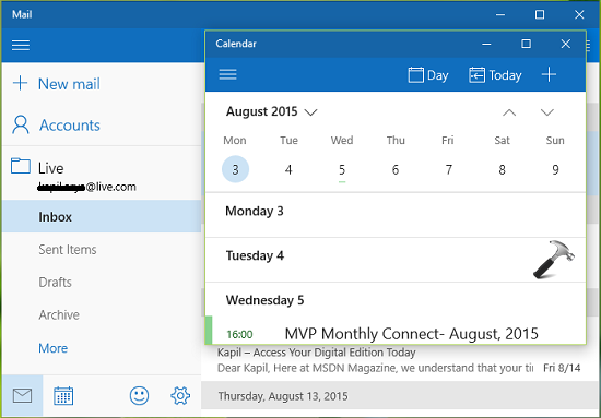 Calendar Apps For Windows : Fix store mail and calendar apps not working in windows