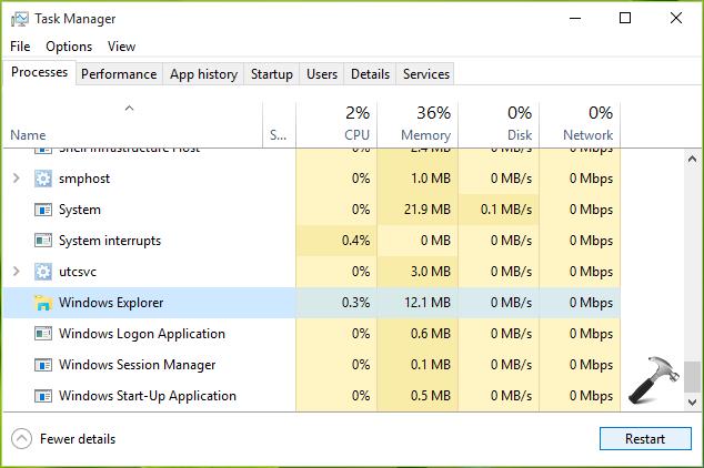 FIX - Taskbar Wont Auto-hide In Windows 10