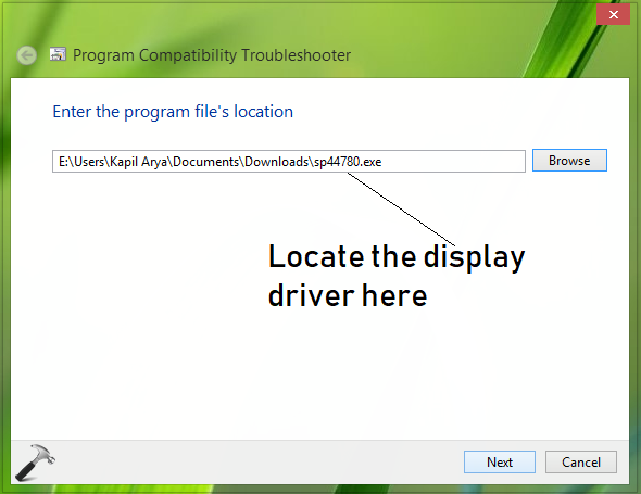 FIX The Display Is Not Compatible With Windows 10