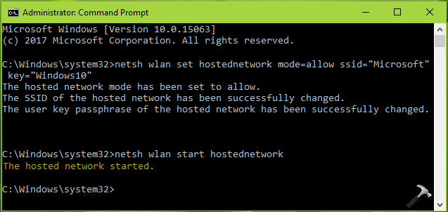 The Hosted Network Couldn't Be Started In Windows 10