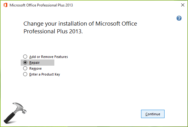 FIX - The Operating System Is Not Presently Configure To Run This Application For Office 2016