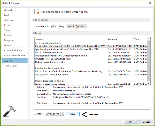 FIX - The Operation Cannot Be Performed Because The Message Has Been Changed In Outlook 2013