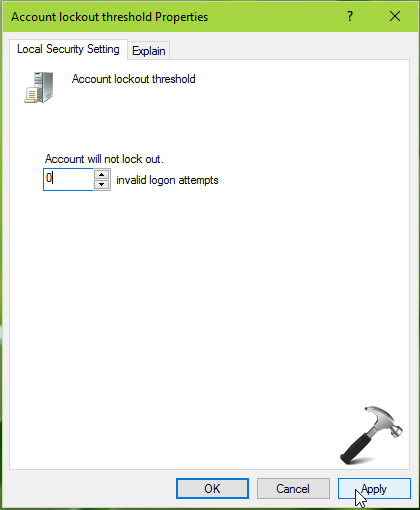 The Referenced Account Is Locked Out And May Not Be Logged On To Windows 10